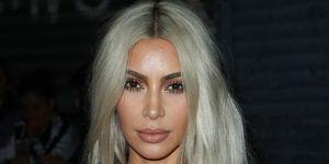 Kim Kardashian blonde makeup
