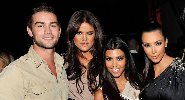 chace crawford y las kardashians, en una foto de archivo