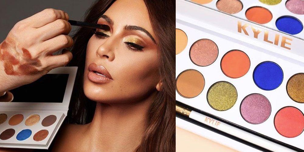 Kim Kardashian copy Kylie Jenner eyeshadow palette Royal Peach