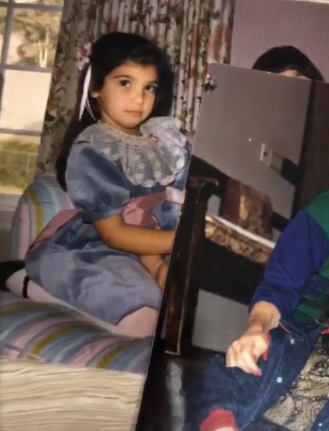 Kim Kardashian fotos de pequeña