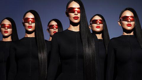 11a9b6f1c0 Kim Kardashian y Bar Refaeli crean las gafas que triunfan en Coachella y  que tú querrás este verano