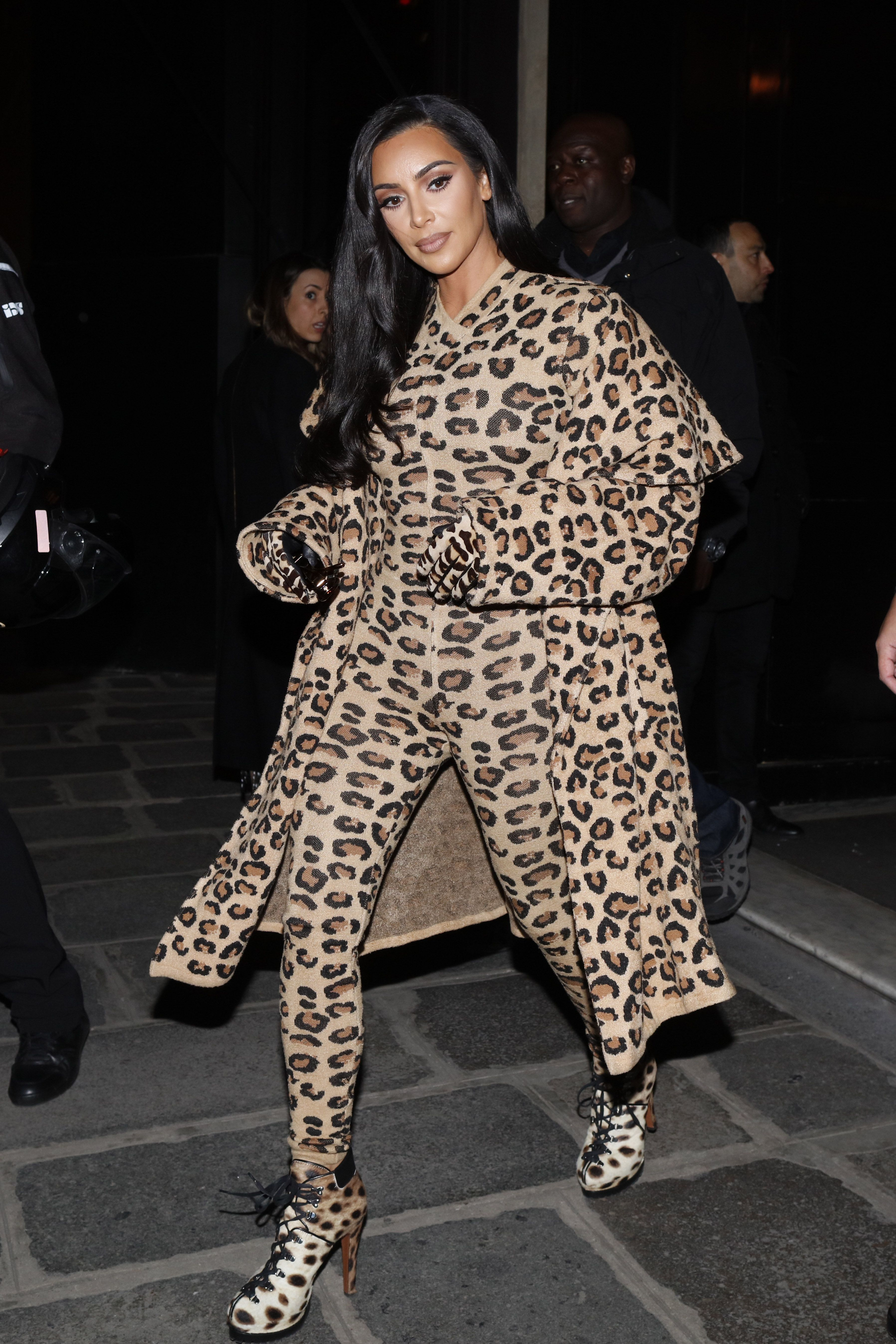 Kim Kardashian Fashion Photos