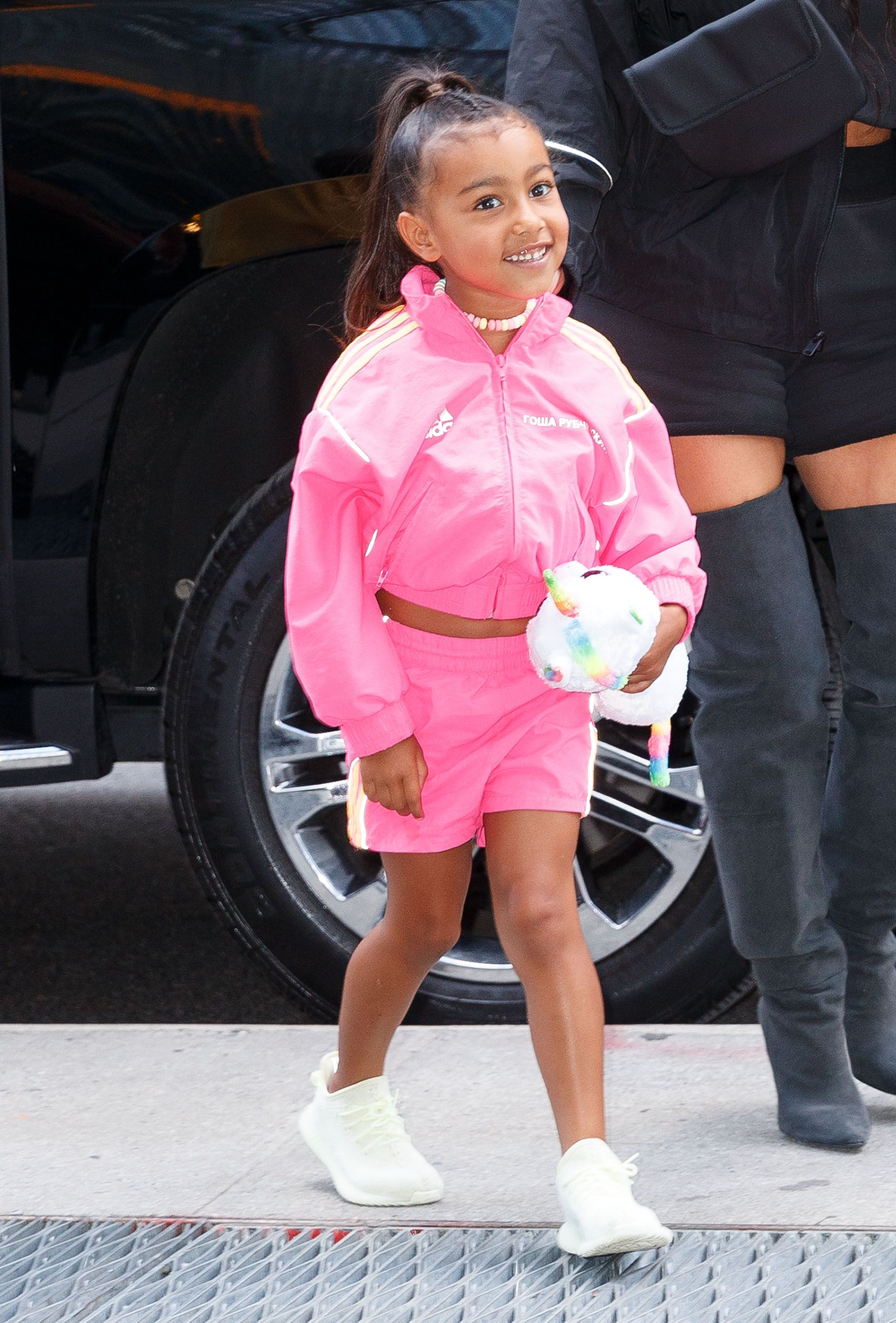 882955005ee5 North West Was a Whole Mood and Was the Most Lit at Kanye West's Sunday  Service