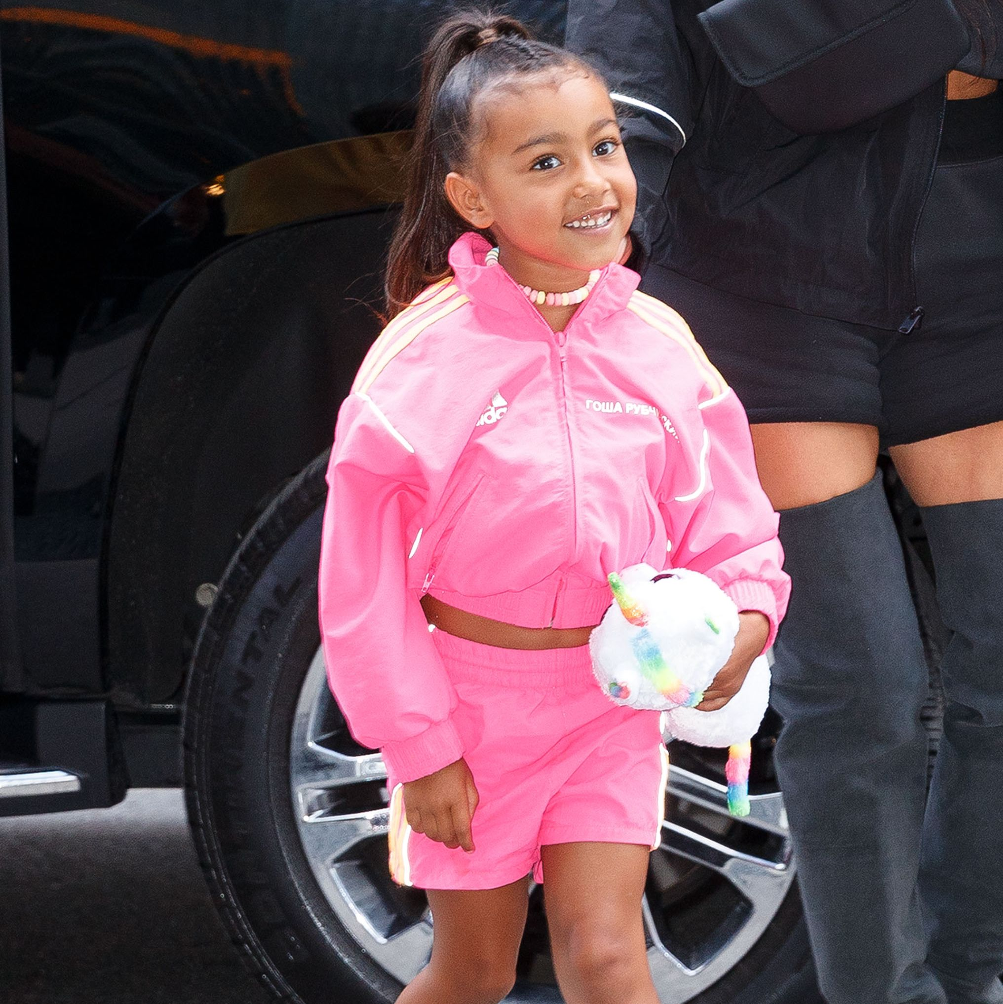 North West Was a Whole Mood and Was the Most Lit at Kanye West's Sunday Service