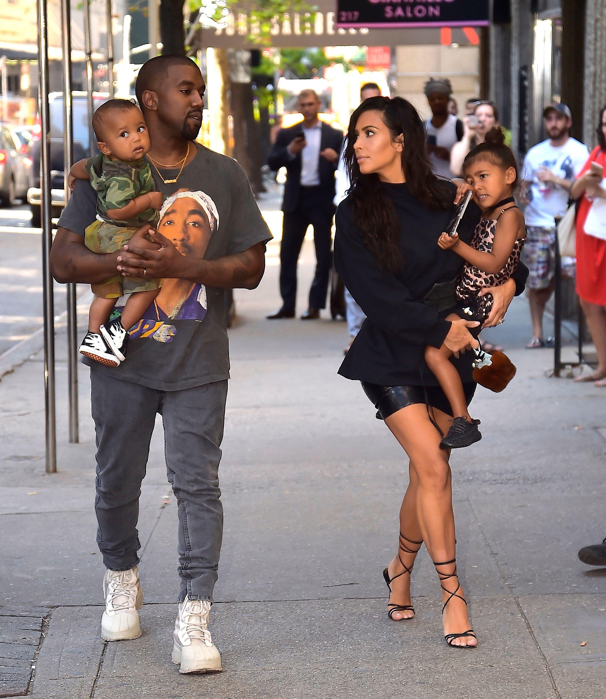 19b508ffb56 Kim Kardashian and Kanye West welcome third child