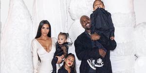 kim-kardashian-kanye-west-vierde-kind