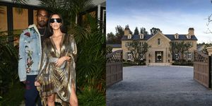 KIM AND KANYE'S HIDDEN HILLS HOME