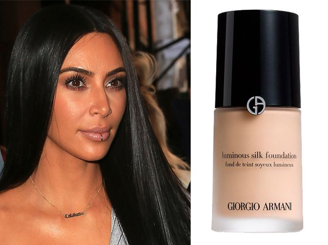 Bien connu These are Kim Kardashian's favourite foundations QC18