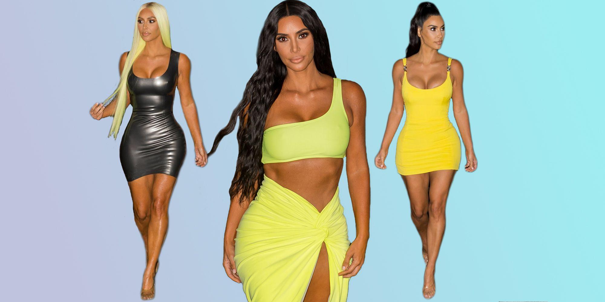 Kim Kardashian best outfits