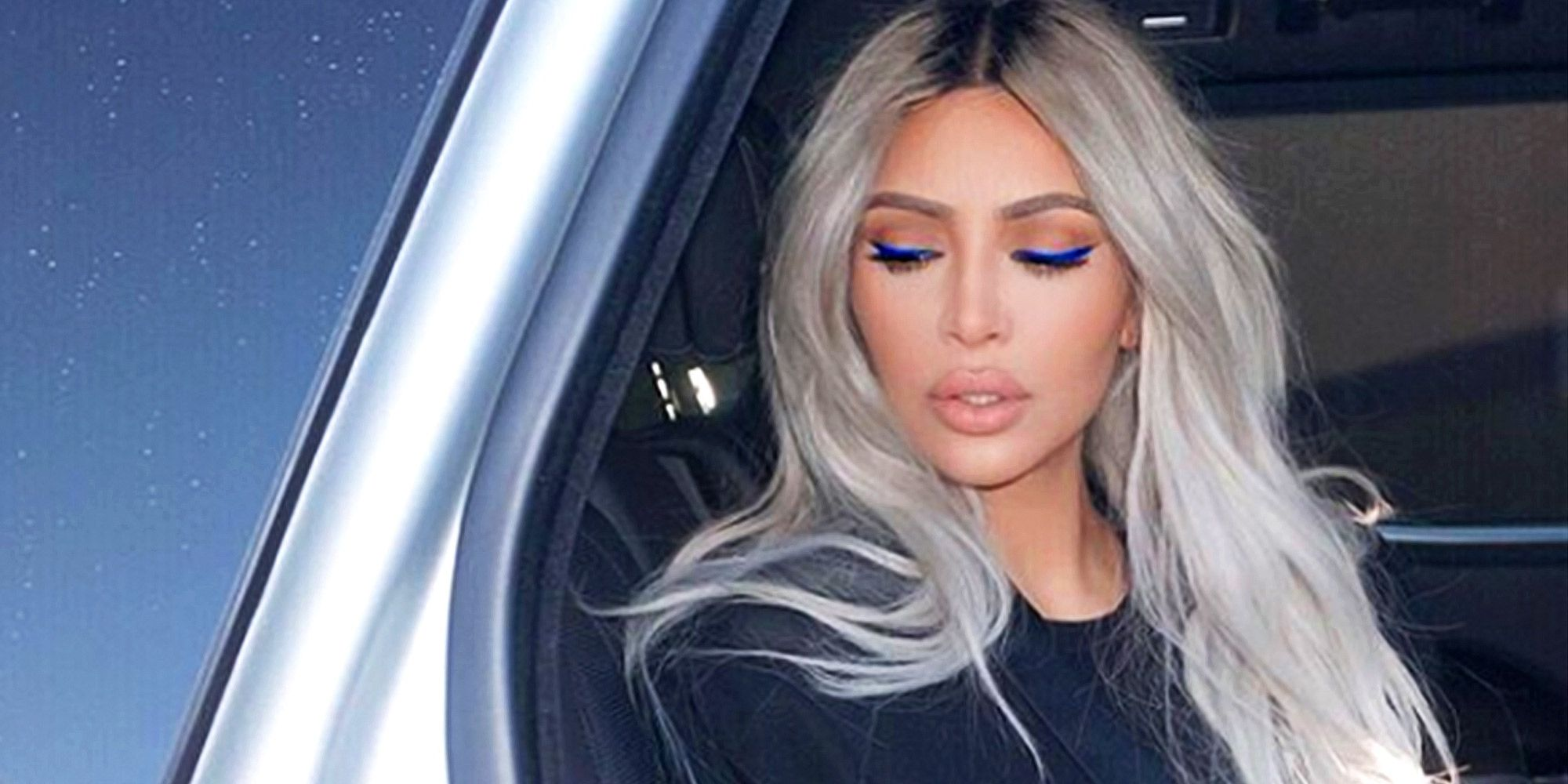 Kim Kardashian Eye Makeup - Cat Eye Makeup