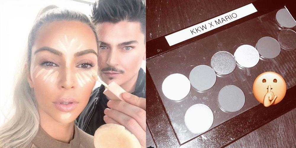 Kim Kardashian Mario Dedivanovic makeup collection