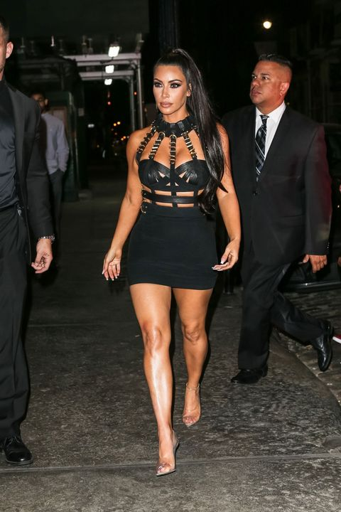 c0a0770f Kim Kardashian just wore a bondage dress to the 2018 Met Gala afterparty