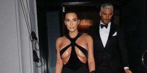 Kim Kardashian West Thierry Mugler jurk