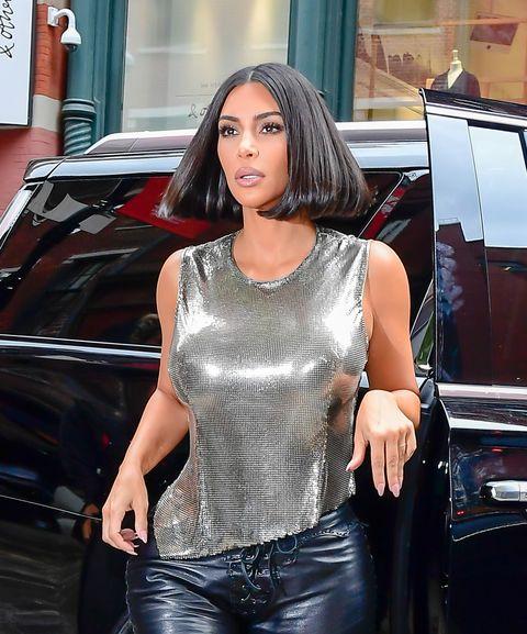kim kardashian fashion week