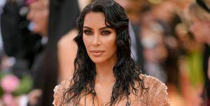 Kim Kardashian posa en la pasada gala del MET.
