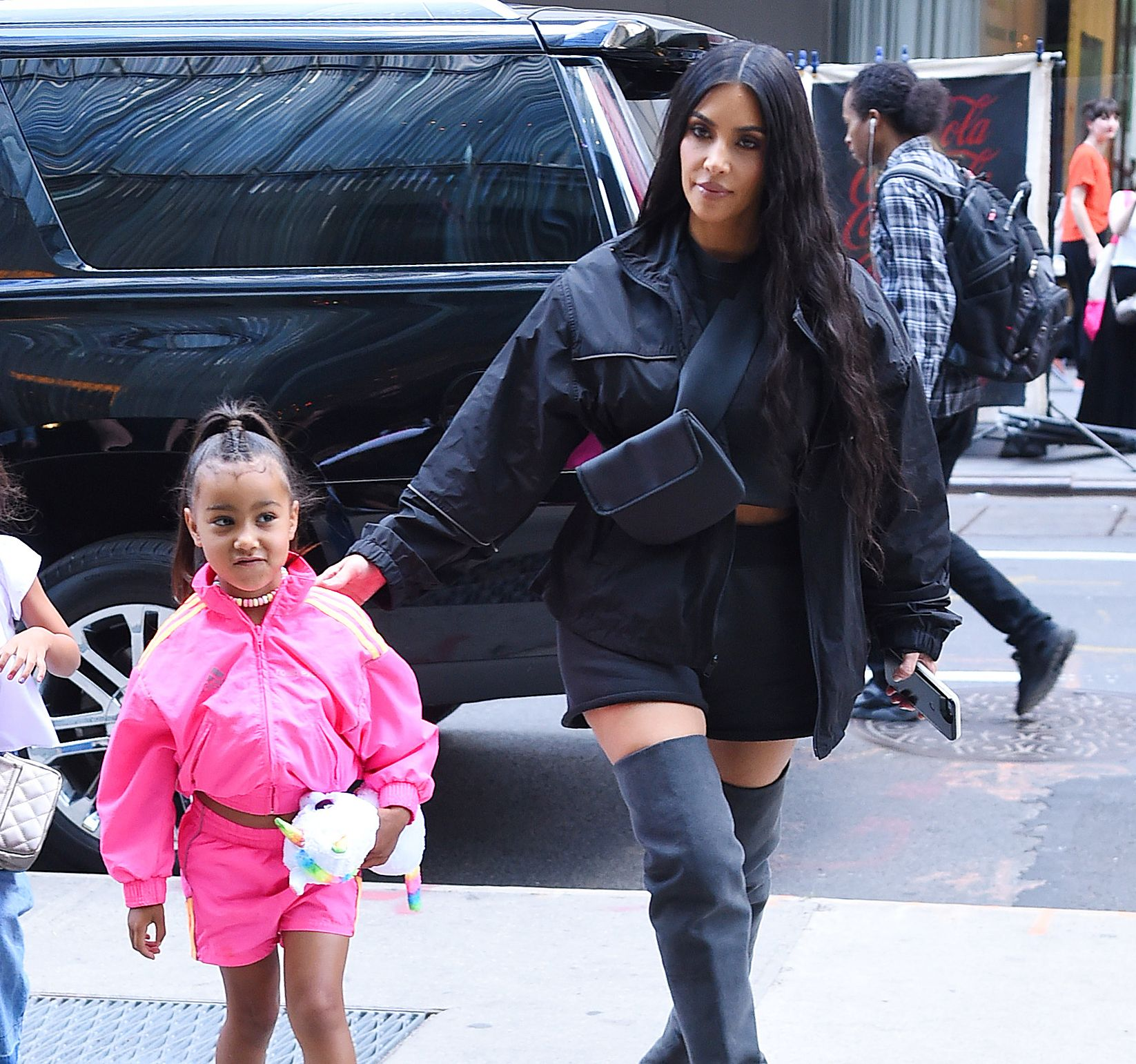 d4148003ab3e Kim Kardashian Told North West a Lie—and It Inspired Kanye West s New Yeezys