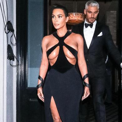 kim kardashian's most daring fashion moments