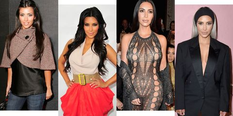 6d29be43 Kim Kardashian Through The Years - Kim K Style Evolution