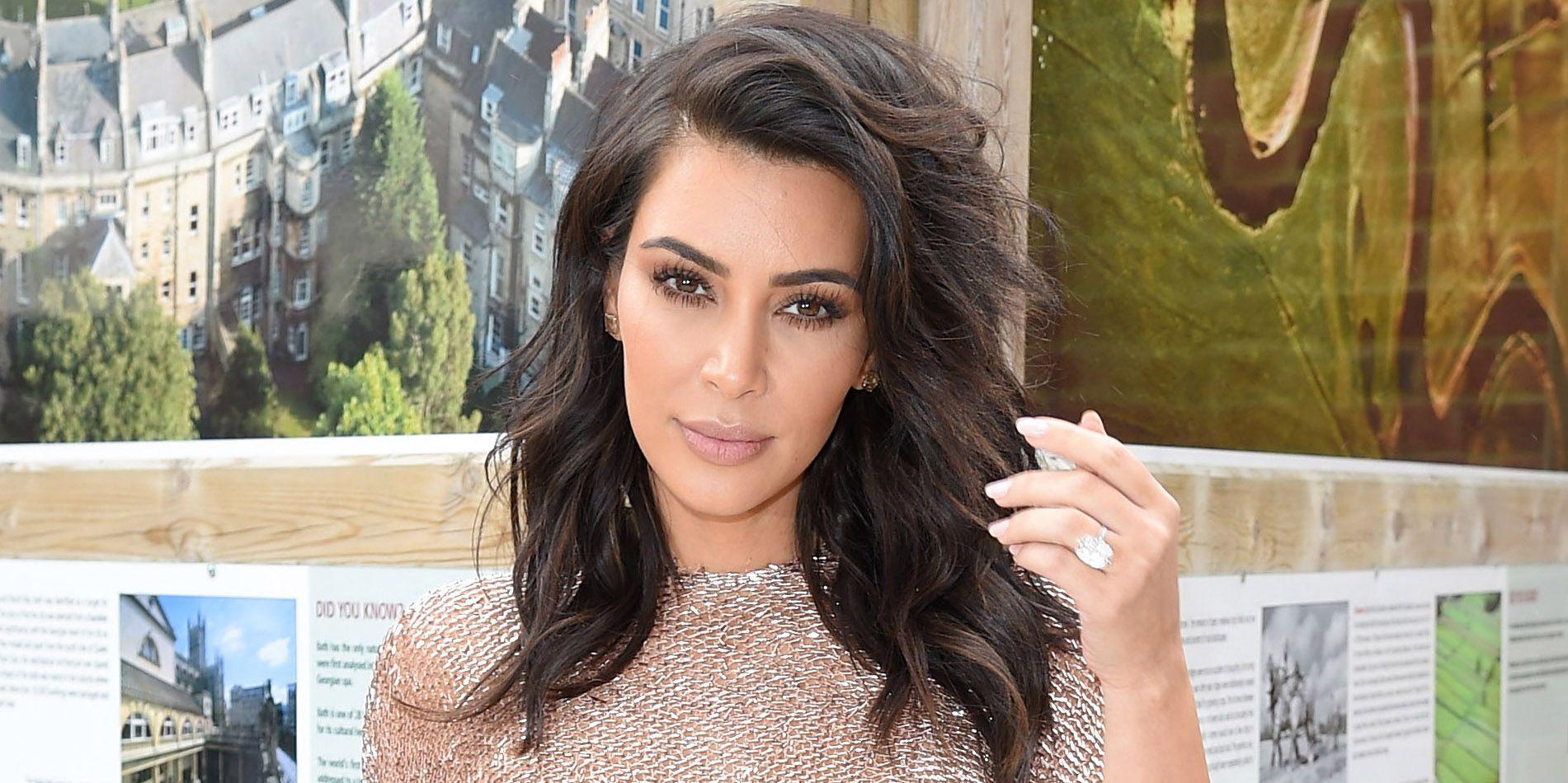 Kim Kardashian West Posts Revealing Bikini Photo on