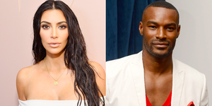 Kim Kardashian en Tyson Beckford