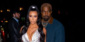 kim kardashian new york versace silver dress