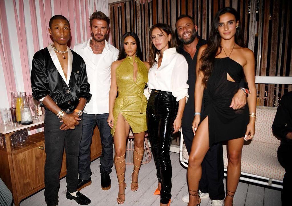 Kim Kardashian ha estado en el cumpleaños de Victoria Beckham (y estamos flipando con la fiesta)