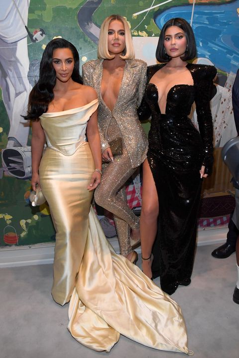 Kim Kardashian Wears A Wedding Dress For Diddy S 50th Birthday