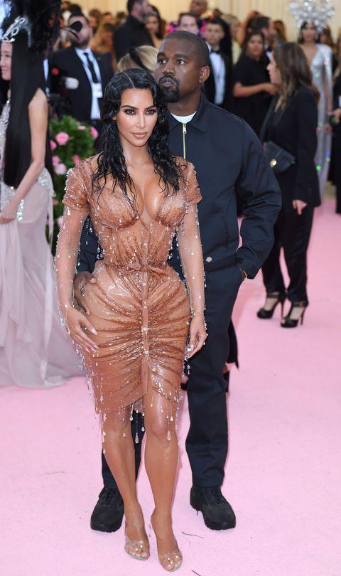 kim kardashian and la gala with the 2019