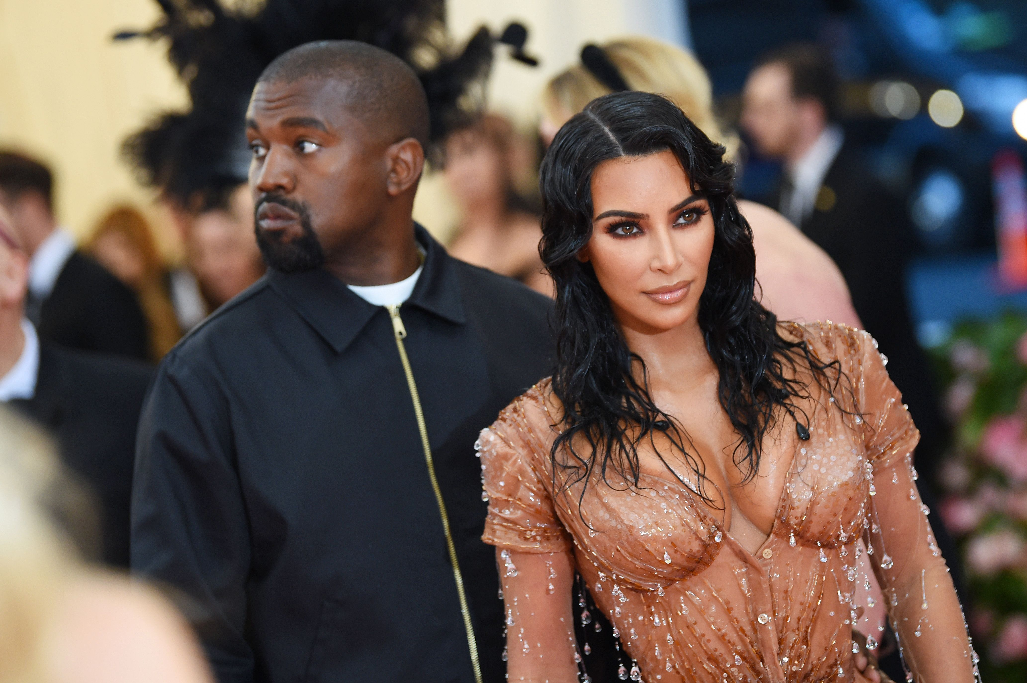 Kim Kardashian Wasn't Having Kanye West's Gross Remark Her Met Gala Look Was 'Too Sexy' for Her to Wear
