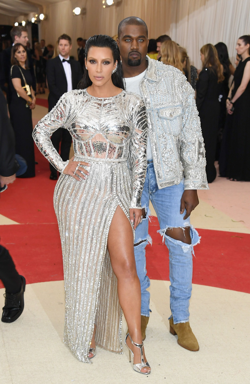 Kim Kardashian West and Kanye West, 2016