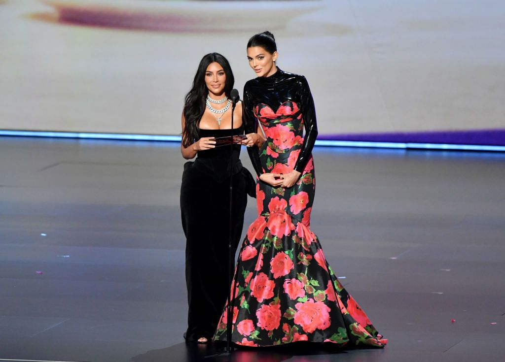 Kendall Jenner and Kim Kardashian Got Laughed at by the Emmys Audience