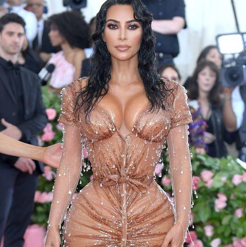 Kim Kardashian at The 2019 Met Gala Celebrating Camp: Notes On Fashion - Arrivals
