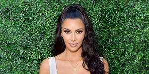 The Affordable Product Kim Kardashian Uses For Her Wavy Hair How