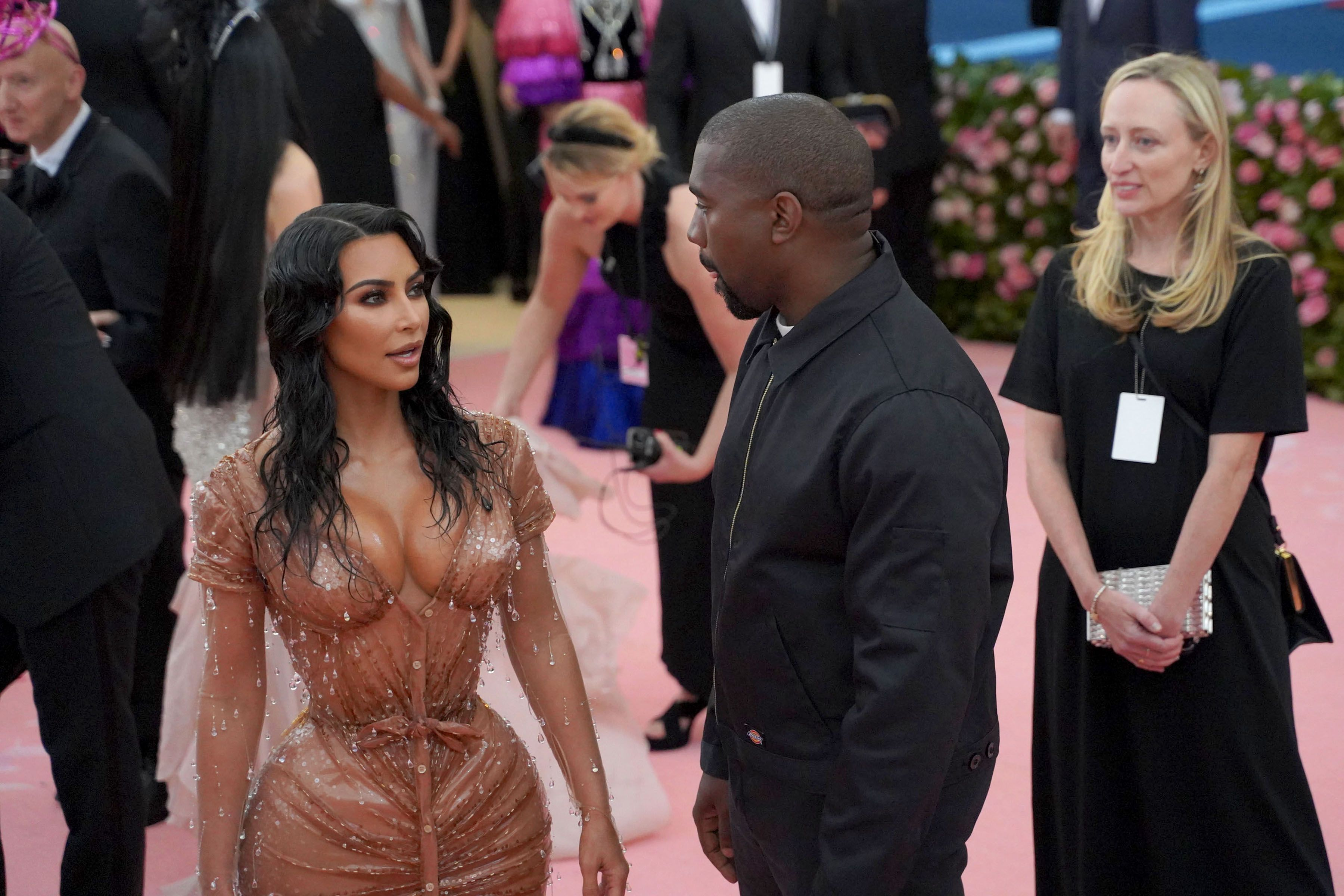 Kanye West Told Kim Kardashian Her Met Gala Corset Was 'Too Sexy'