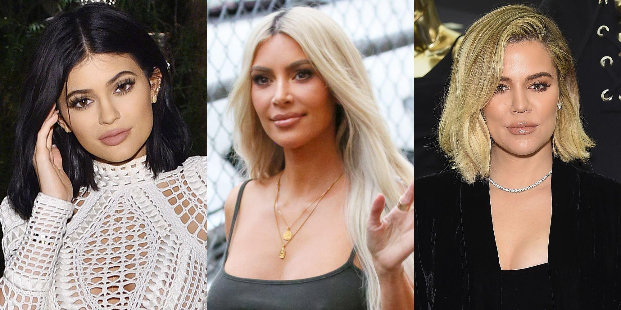 Kylie, Kim, and Khloe Kardashian