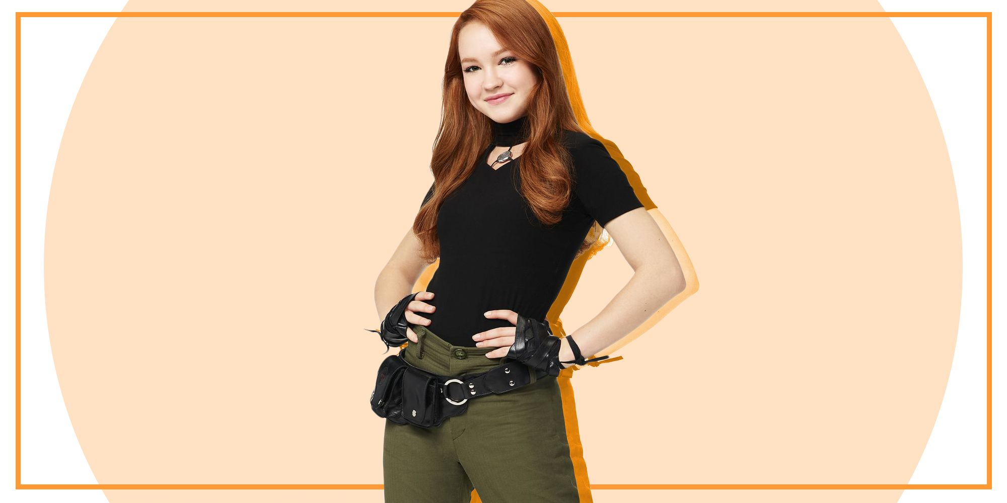 Your First Look at the New Live-Action \'Kim Possible\' - Sadie ...