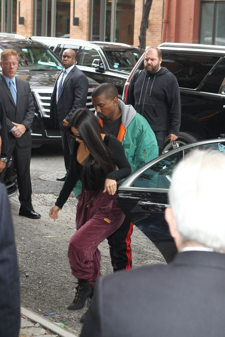 Image result for Kim Kardashian returns to New York after Paris robbery