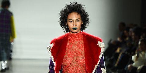 Runway, Fashion, Fashion model, Fashion show, Clothing, Fashion design, Outerwear, Human, Haute couture, Event,