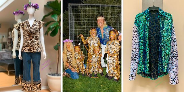 Inside the Making of Kim Kardashian's $6,400 Group 'Tiger King' Costume by Alejandro Collection