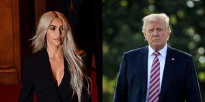 Kim Kardashian Donald Trump twitter