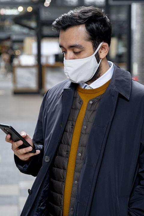 barro Oficial Gigante  Uniqlo vende mascarillas reutilizables de tela AIRism en España