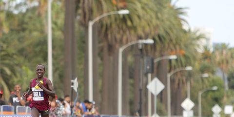 2015 L.A. Marathon winner Ogla Kimaiyo