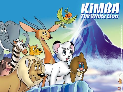 Kimba el Emperador de la Jungla El Rey Leon
