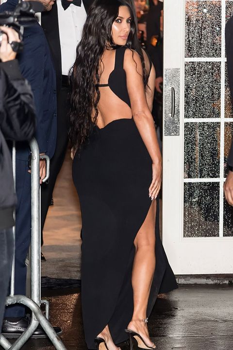 856ab17ba8 Kim Kardashian showed off the most amount of cleavage in a super low ...