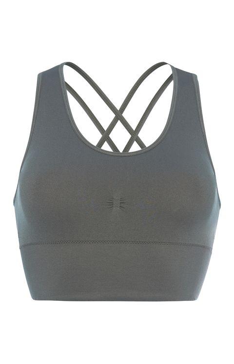 Brassiere, Clothing, Undergarment, Sports bra, Undergarment, Crop top,