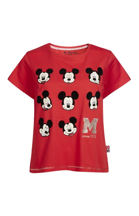 T-shirt, Clothing, Red, White, Sleeve, Product, Top, Crop top, Pattern, Outerwear,