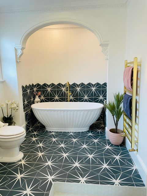 kimberley walsh's bathroom renovation
