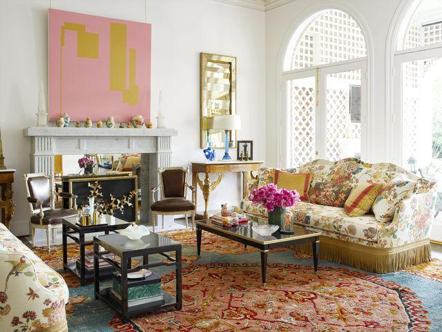 Jan Showers Designed Dallas Estate Kimberly Schlegel