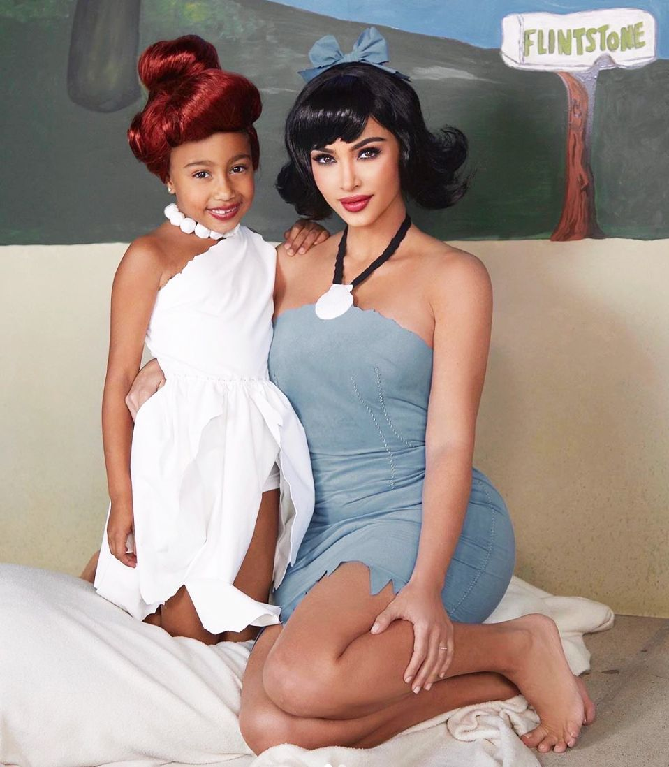 North West Halloween Costume 2020 See Kim Kardashian and Her Kids North, Saint, and Chicago's Great