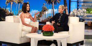 Kim Kardashian, Ellen DeGeneres, Kanye West,Tristan Thompson, reactie